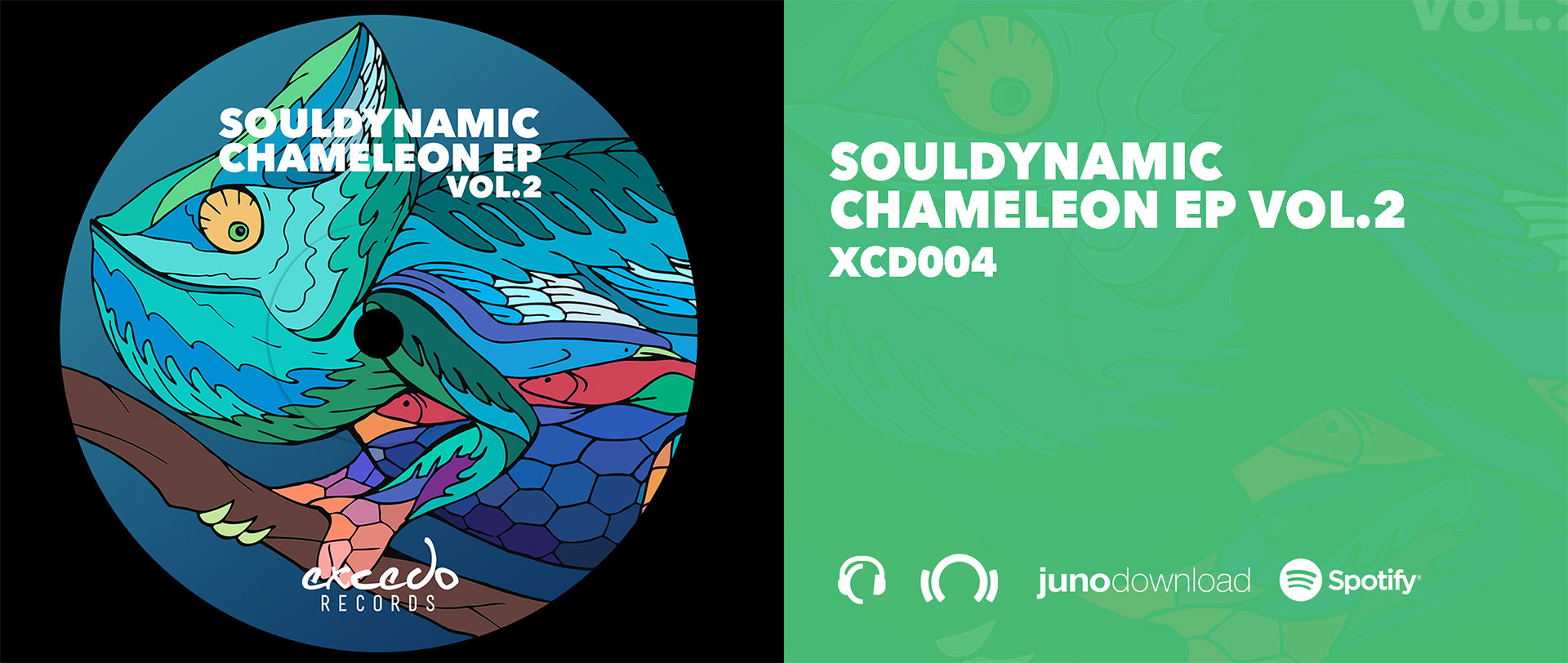 Chameleon EP Vol.2 OUT NOW!